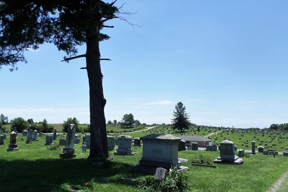 American War Graves Elizaville Cemetery