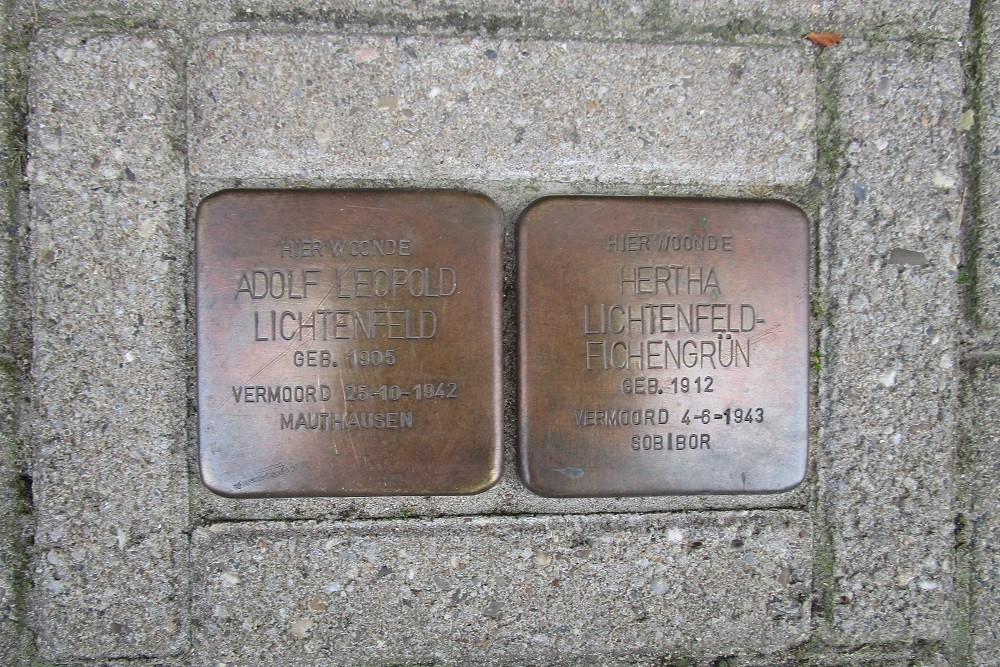 Remembrance Stones Vechtstraat 59
