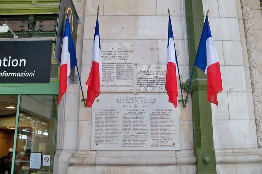 Plaques Gare de Lyon