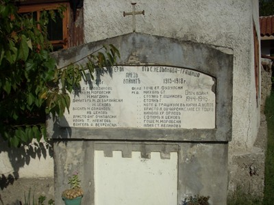 War Memorial Nedelkova Grashtitsa