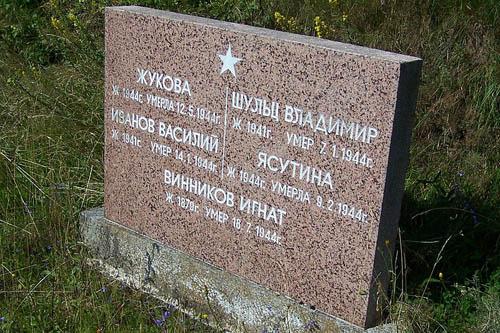 Sovjet Oorlogsgraven Ruhla