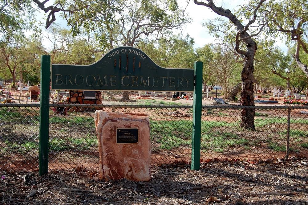 Commonwealth War Grave Broome Public Cemetery