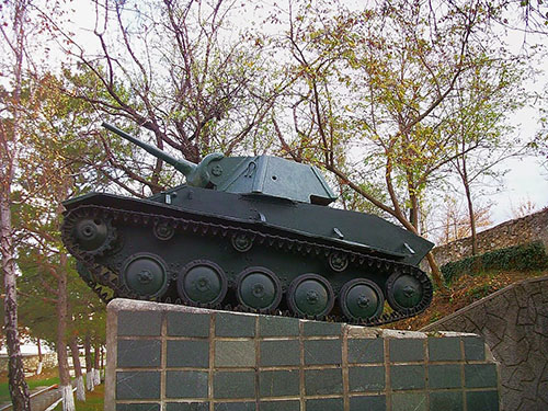 Liberation Memorial (T-70 Tank) Bakhchysarai
