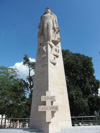 Statue Général Leclerc