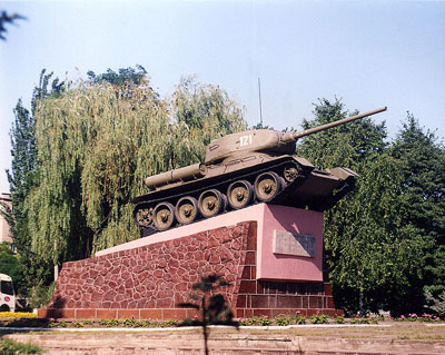 Memorial 3rd Guards Mechanized Corps (T-34/85 Tank) Mariupol