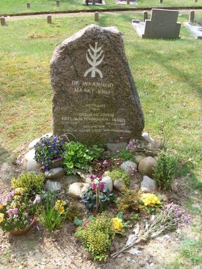 Grave Florrie Rost van Tonningen-Heubel General Cemetery Rheden