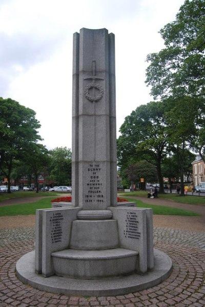 Oorlogsmonument Tynemouth