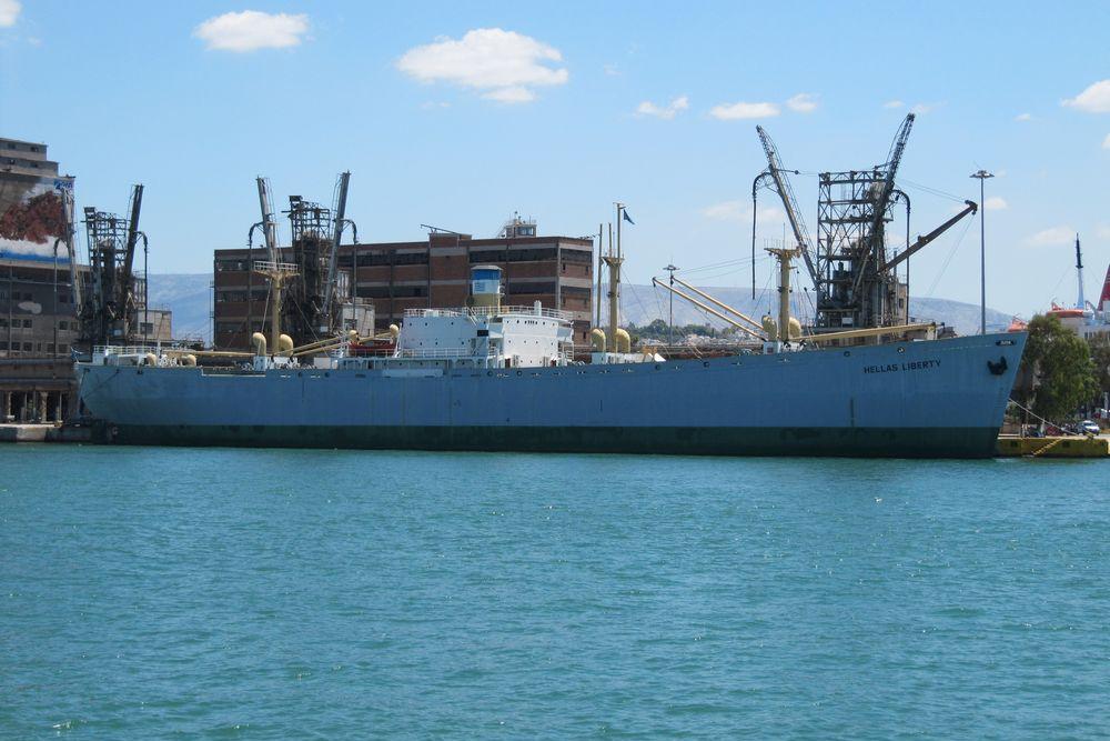Museumschip SS Arthur M. Huddell (Hellas Liberty)