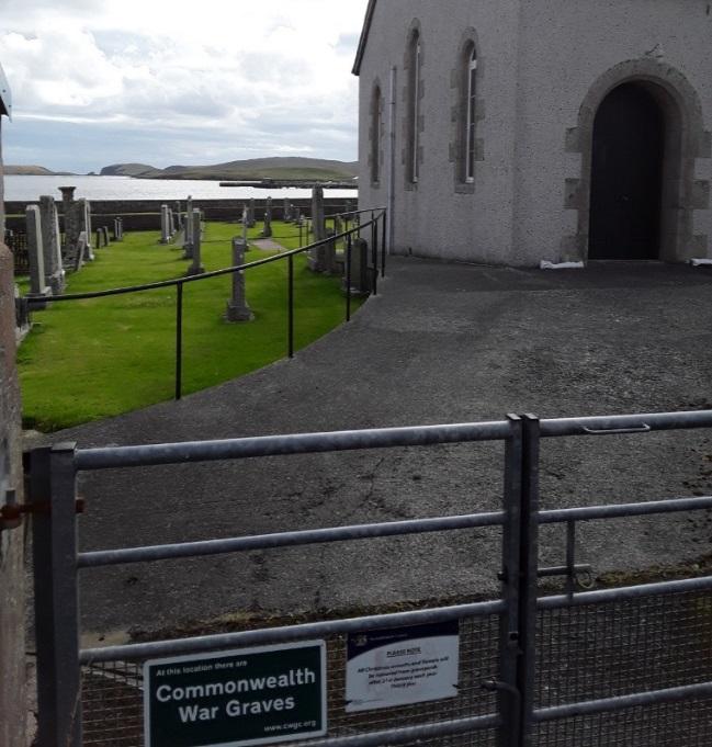 Oorlogsgraven van het Gemenebest Walls Parish Churchyard