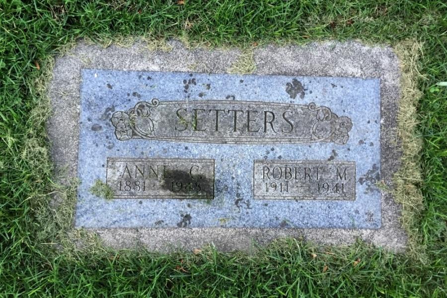 Oorlogsgraf van het Gemenebest Greenwood Memorial Terrace Cemetery