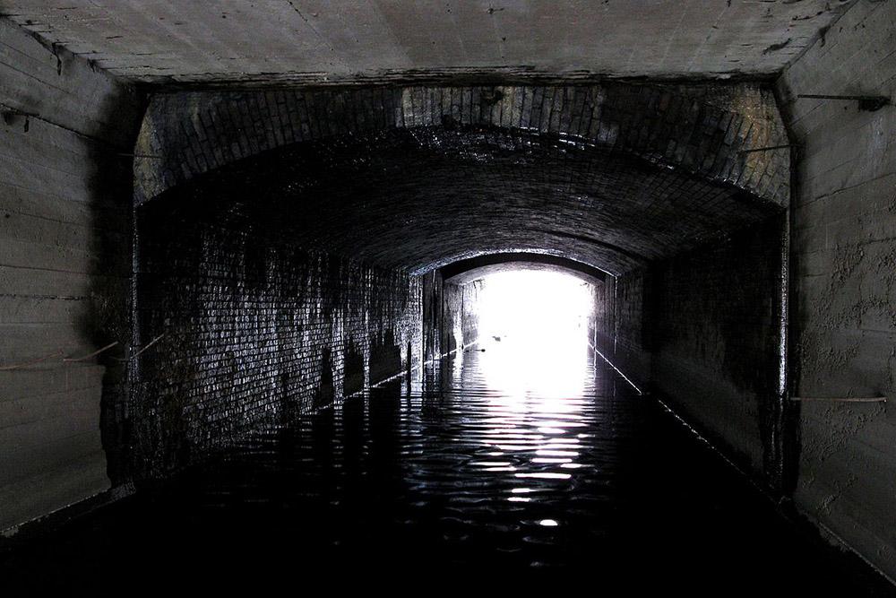 Festung Posen - Cybina Schleuse