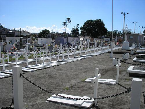 Franse Oorlogsgraven Fort-de-France