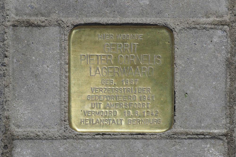 Stolperstein Driebergenstraat 44 (nu nr. 25)