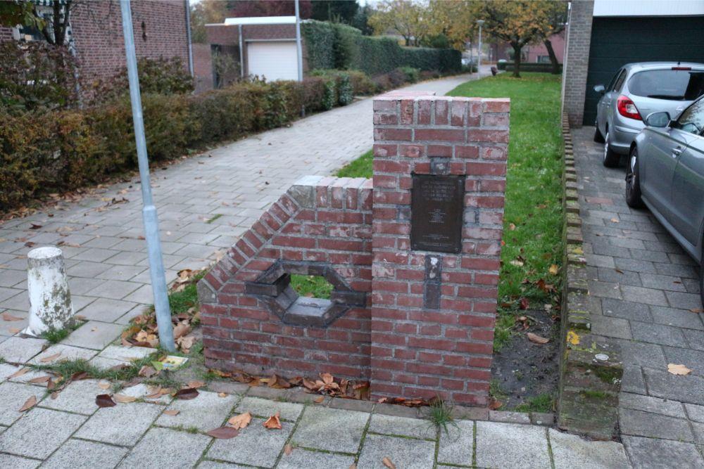 Memorial V1 Bomb Impact Ramppad Waalwijk