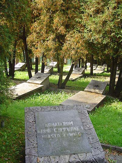 Soviet War Cemetery Zywiec