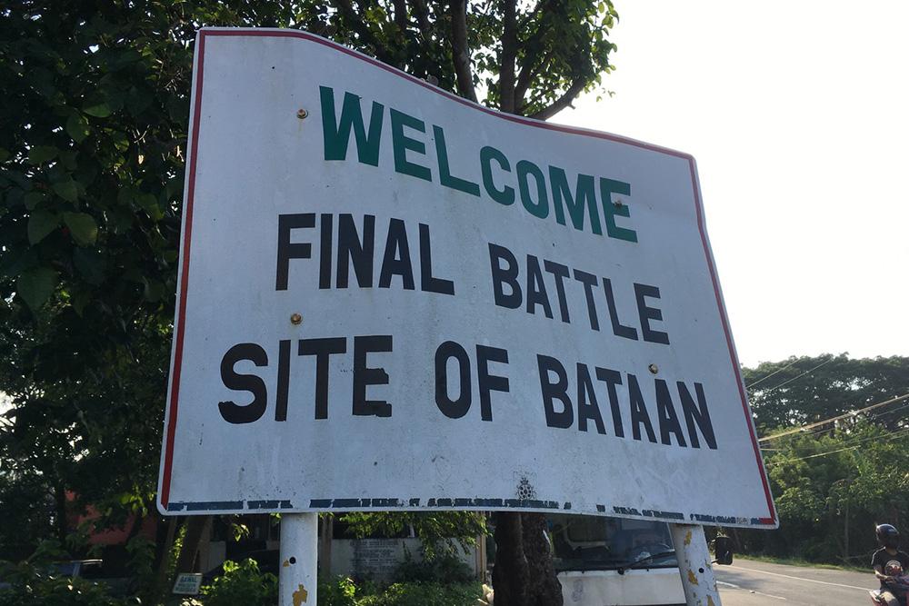 The Final Battle of Bataan Marker