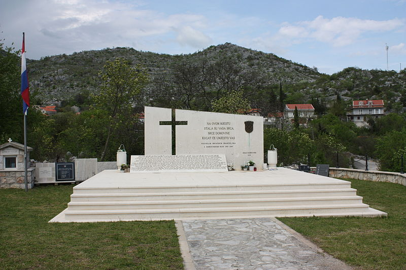 Memorial Fallen Croatian Defenders Osojnik