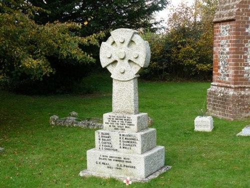 War Memorial Smannell