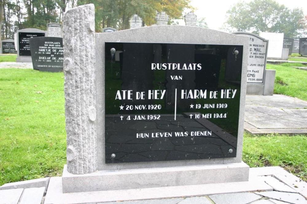 Nederlandse Oorlogsgraven Algemene Begraafplaats Sintjohannesga