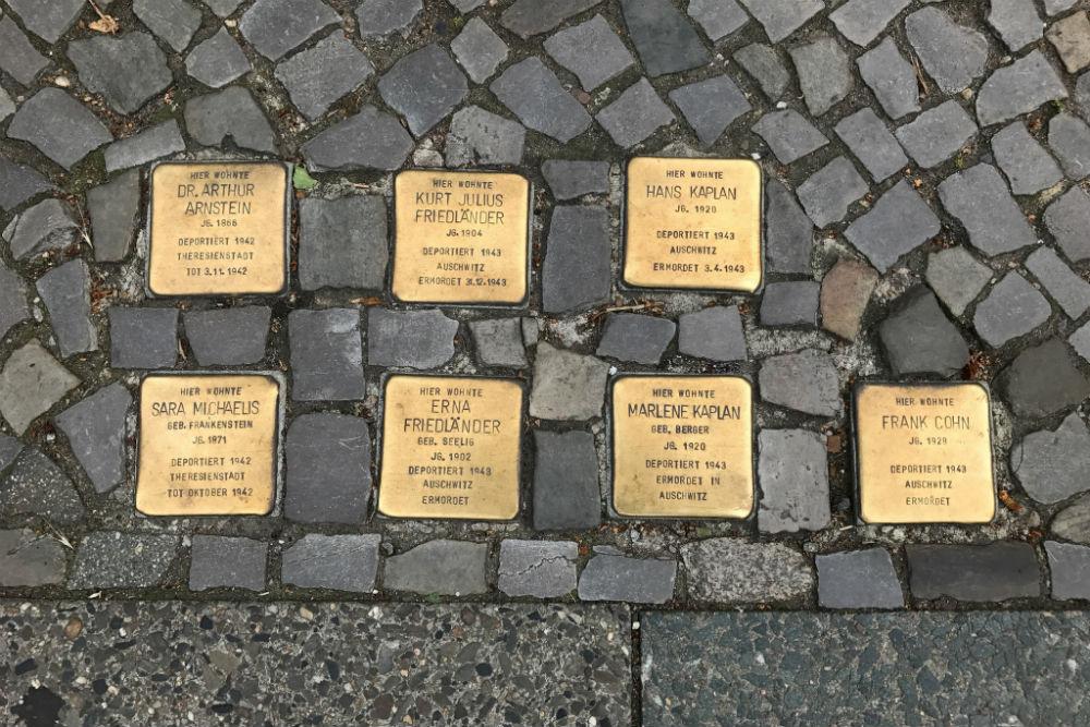 Stumbling Stones Drakestraße 47