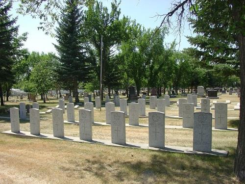 Commonwealth War Graves Moose Jaw Cemetery