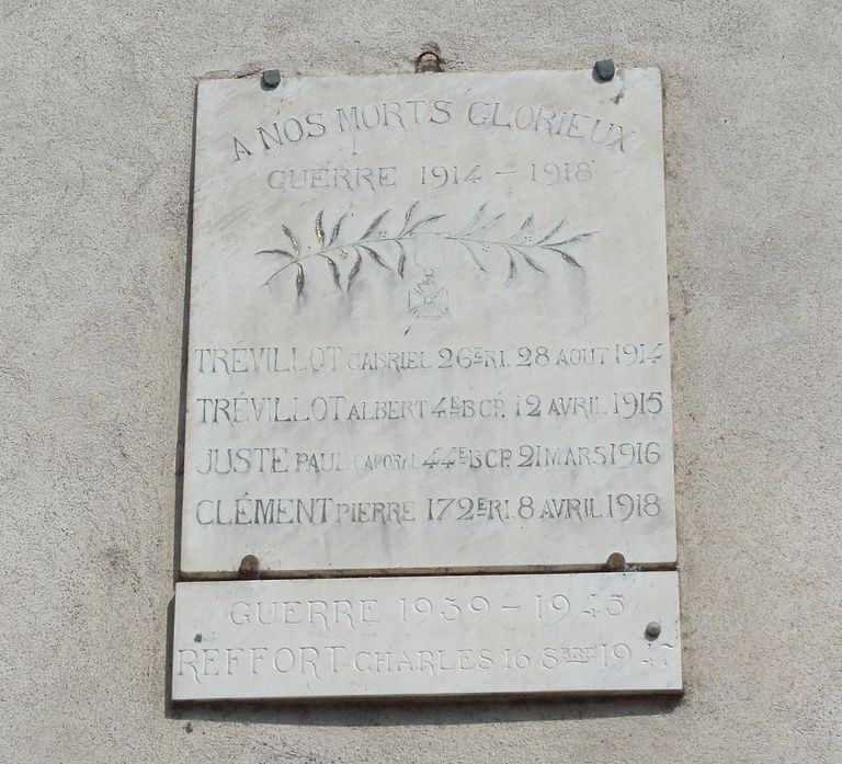 Oorlogsmonument Saint-Mard