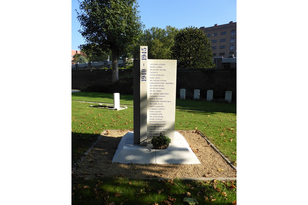 Gedenkteken Burgerslachtoffers WO2 Westerbegraafplaats