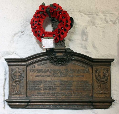 War Memorial St Olave Church