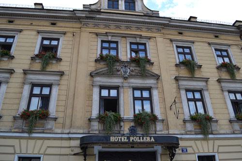 Hotel Pollera Krakau Kraków Tracesofwarnl