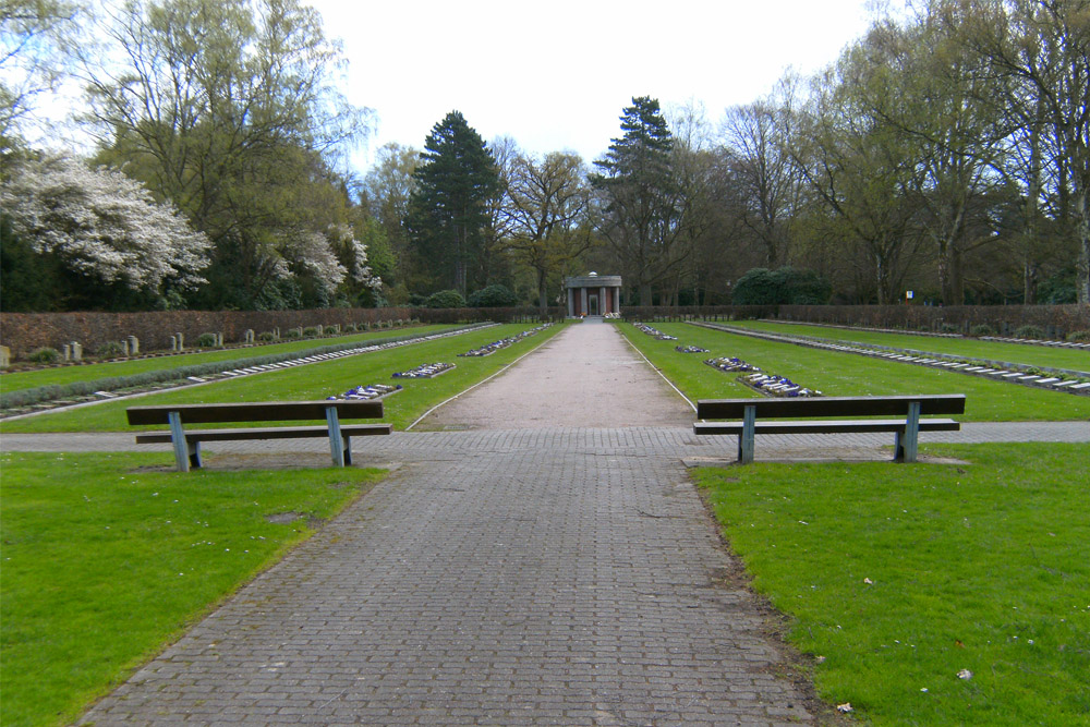 German War Graves Cemetery Friedhof Ohlsdorf Hamburg