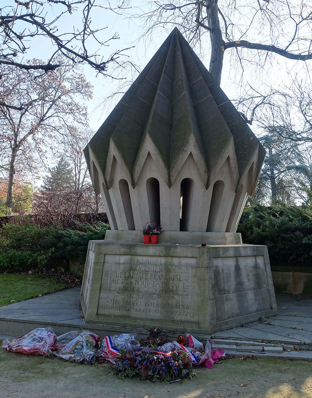 Memorial Armenian Soldiers
