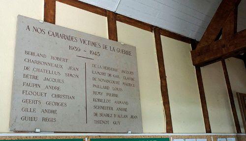War Memorial Tennis Club de Reims