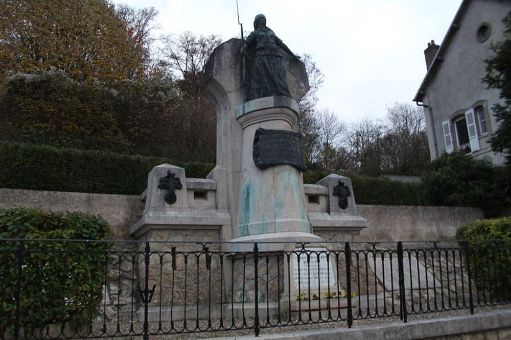 Memorial Fight 22 January 1871 and WWI-memorial Fontenoy-sur-Moselle