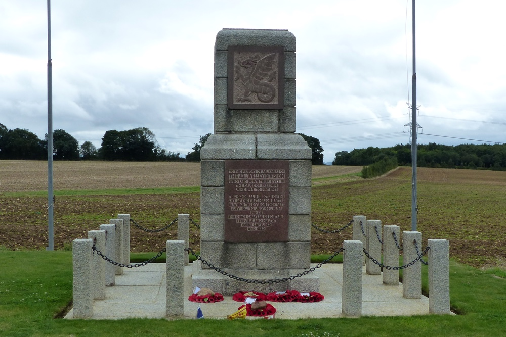 Memorial 43rd (Wessex) Division and Operation Jupiter - Hill 112