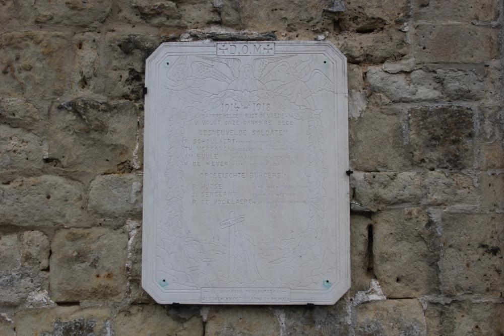 Commemorative Plate Westrem