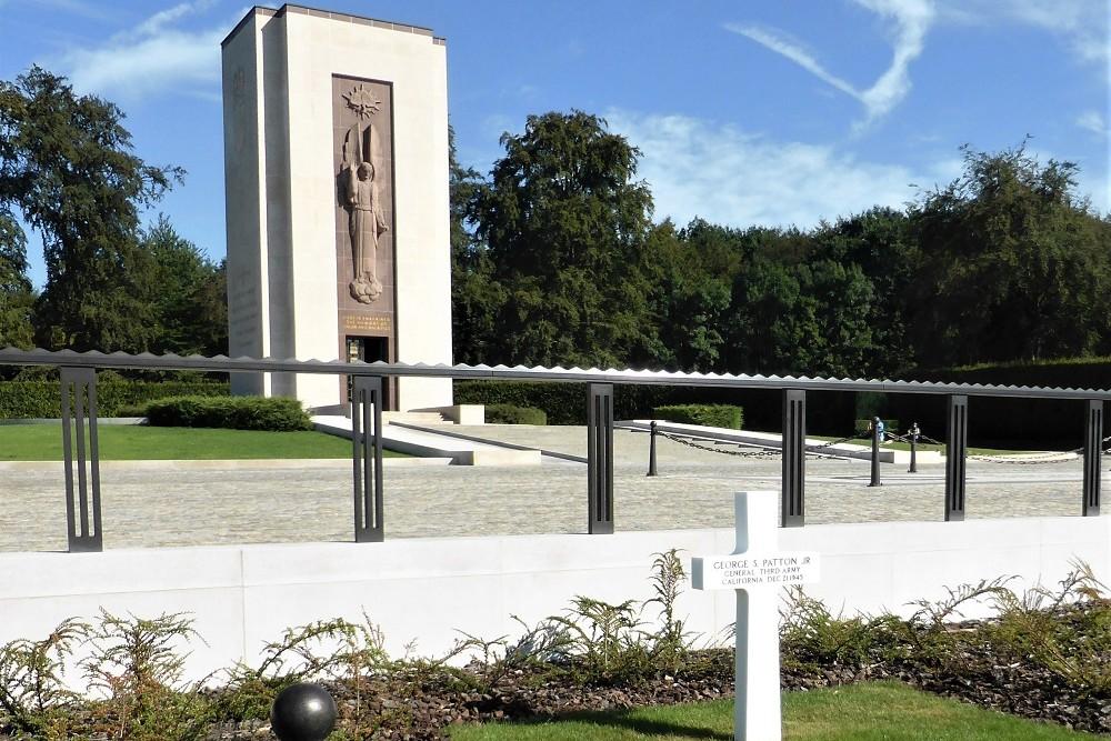 Kapel Amerikaanse Begraafplaats Luxembourg