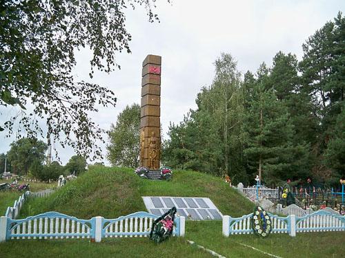 Mass Grave Soviet Soldiers Vyalіkіya Aўtsyukі