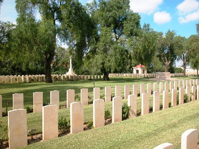 Commonwealth War Cemetery Enfidaville