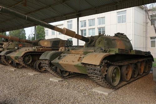 Chinese Tank Museum Beijing