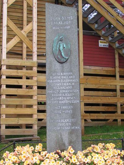 Monument Skansens Bataljon Bergen