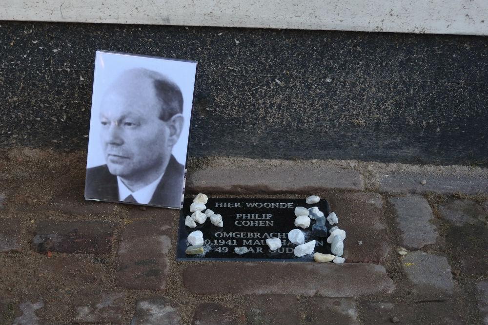 Memorial Stone Raadhuisplein 10