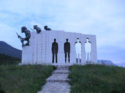 Monument Massamoord Distomo