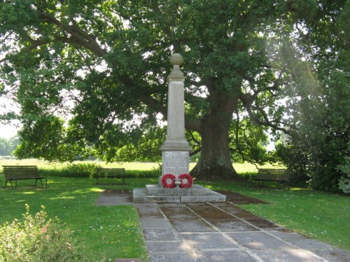 Oorlogsmonument Graffham en East Lavington