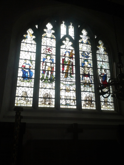 Oorlogsmonument St Etheldreda's Church Hatfield