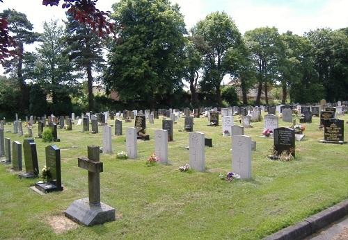 Oorlogsgraven van het Gemenebest North Walsham New Cemetery