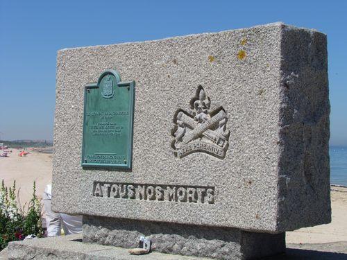 Monument Regiment de la Chaudière van Canada Bernières-sur-Mer