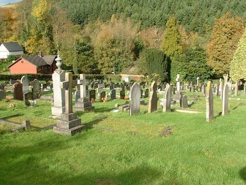 Oorlogsgraven van het Gemenebest Knighton Cemetery