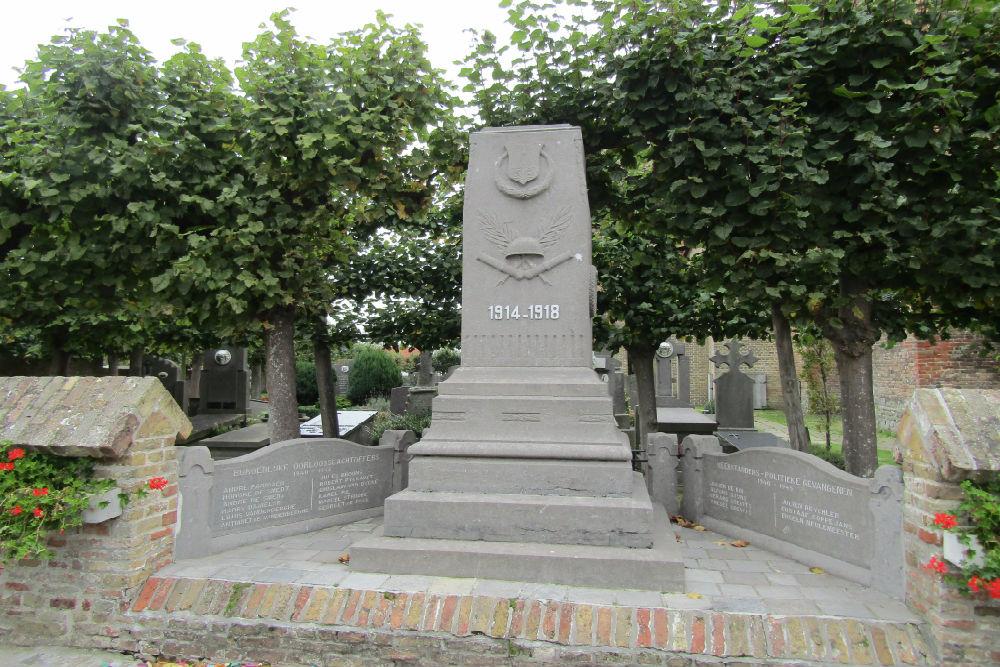 War Memorial Lissewege