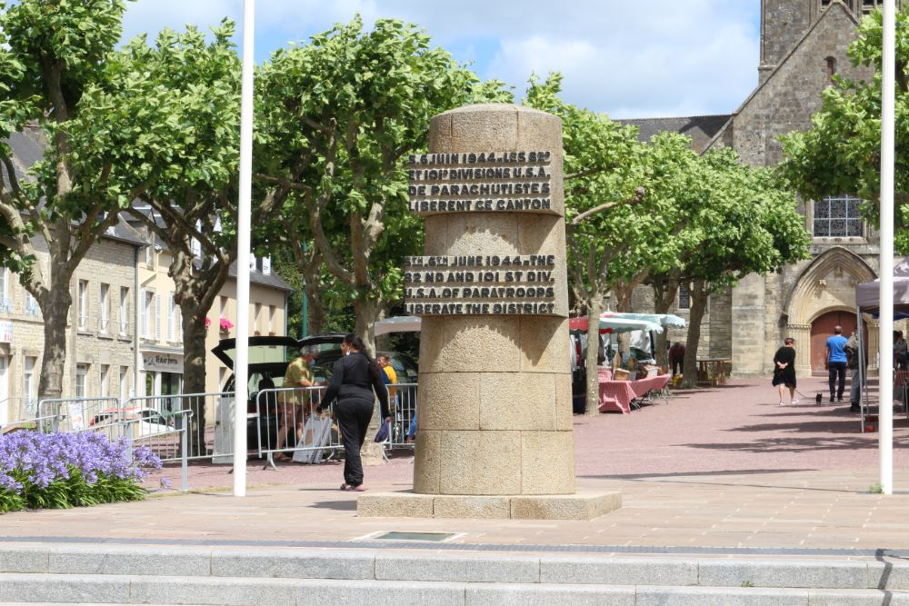 Liberation Monument Sainte-Mère-Eglise