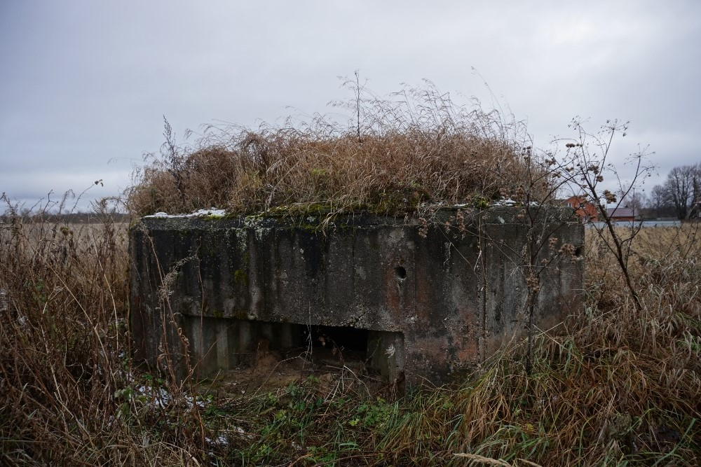Soviet Machinegeweer Bunker Yurkino
